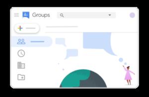 Google Groups new UI